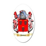 Pudney 20x12 Oval Wall Decal
