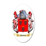 Pudney 35x21 Oval Wall Decal