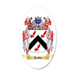 Puddy Oval Car Magnet
