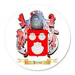 Pryor Round Car Magnet