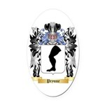 Prynne Oval Car Magnet