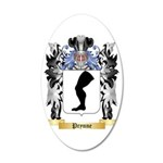 Prynne 35x21 Oval Wall Decal
