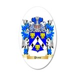 Pryce 20x12 Oval Wall Decal