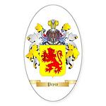 Pryce 2 Sticker (Oval)