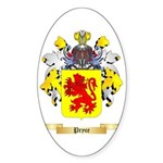Pryce 2 Sticker (Oval 10 pk)