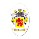Pryce 2 20x12 Oval Wall Decal