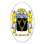 Pruitt Sticker (Oval 10 pk)