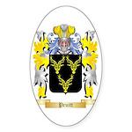 Pruitt Sticker (Oval 50 pk)
