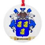 Prudhomme Round Ornament