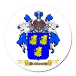 Prudhomme Round Car Magnet