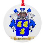 Prudame Round Ornament