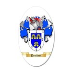 Pruckner 35x21 Oval Wall Decal