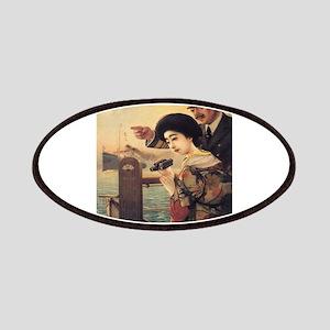 Vintage poster - Oriental Steamship Patch