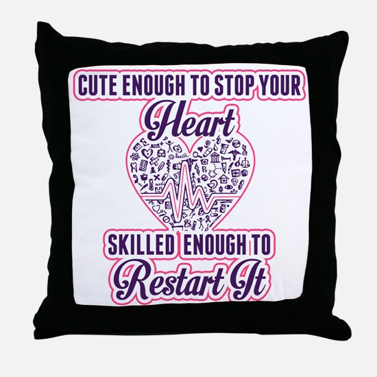 Cute Teenage Throw Pillow