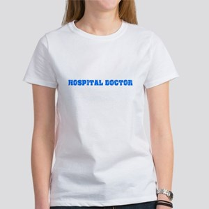 Hospital Doctor Blue Bold Design T-Shirt