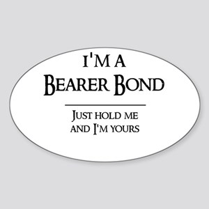 Bearer Bond Oval Sticker