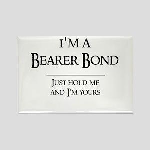 Bearer Bond Rectangle Magnet