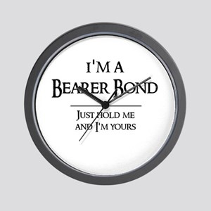 Bearer Bond Wall Clock