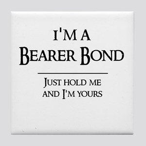 Bearer Bond Tile Coaster