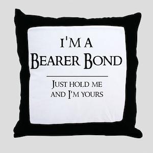 Bearer Bond Throw Pillow