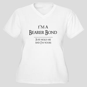 Bearer Bond Women's Plus Size V-Neck T-Shirt