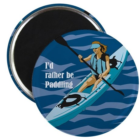 Rather paddle Magnet