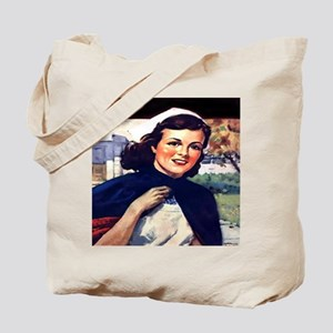 SENIOR NURSE Tote Bag