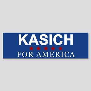 Kasich For America Bumper Sticker