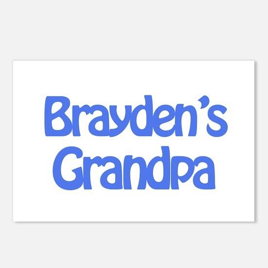 Brayden's Grandpa Postcards (Package of 8)