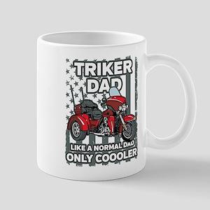 Motorcycle Triker Dad 11 oz Ceramic Mug