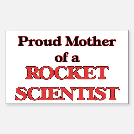 Proud Mother of a Rocket Scientist Decal