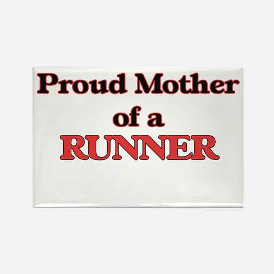 Proud Mother of a Runner Magnets
