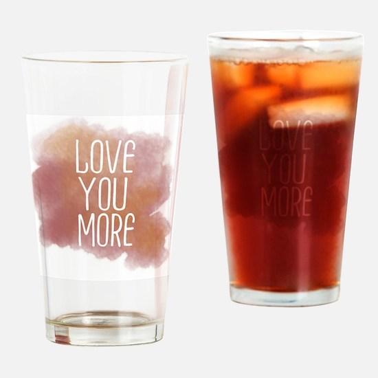 Unique More Drinking Glass
