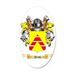 Prow Oval Car Magnet