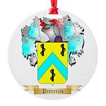 Provencio Round Ornament