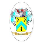 Provencal Sticker (Oval 50 pk)
