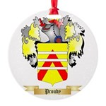 Proudy Round Ornament