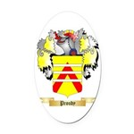 Proudy Oval Car Magnet