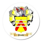 Proudy Round Car Magnet