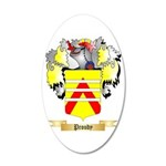 Proudy 20x12 Oval Wall Decal