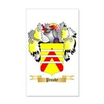 Proudy 20x12 Wall Decal