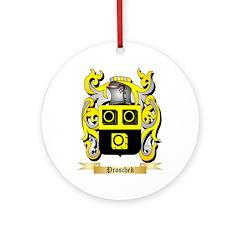Proschek Round Ornament