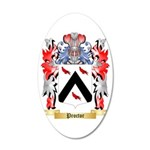 Proctor 35x21 Oval Wall Decal