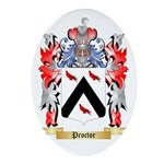 Proctor Oval Ornament