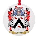 Procktor Round Ornament