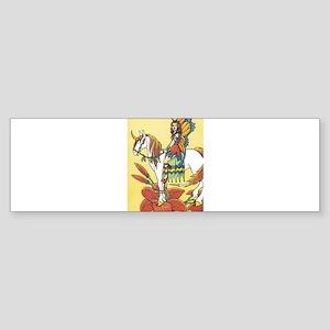 Fairy and Horse Bumper Sticker