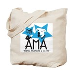 Logo Both Sides! Animal Modeling & Actor Tote