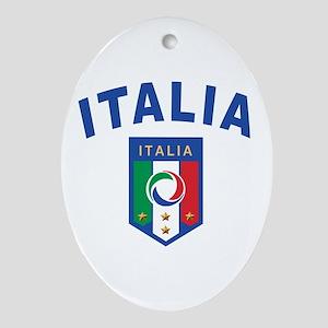 Forza Italia Ornament (Oval)
