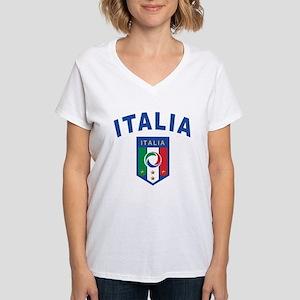 Forza Italia Women's V-Neck T-Shirt