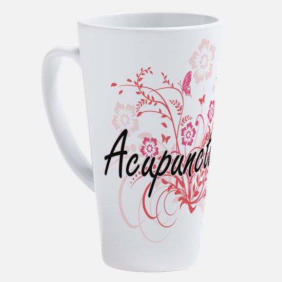 Unique Needle 17 oz Latte Mug